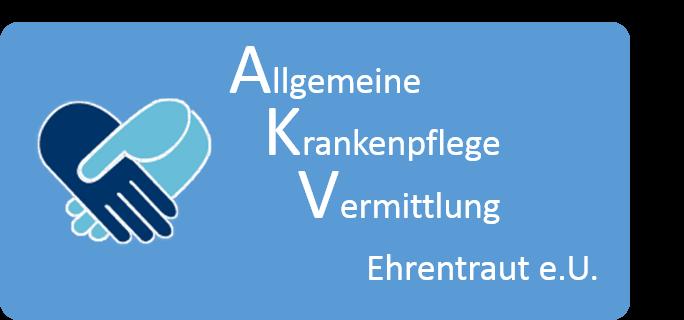 Logo Allgemeine Krankenpflege Vermittlung Ehrentraut e.U.